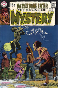 Cover Thumbnail for House of Mystery (DC, 1951 series) #186