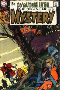 Cover for House of Mystery (DC, 1951 series) #187