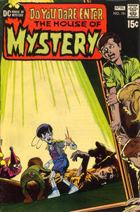 Cover Thumbnail for House of Mystery (DC, 1951 series) #191
