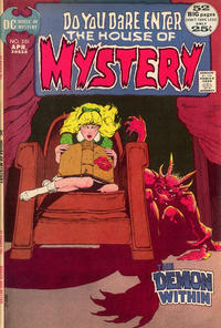 Cover Thumbnail for House of Mystery (DC, 1951 series) #201