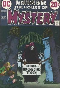 Cover Thumbnail for House of Mystery (DC, 1951 series) #208