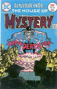 Cover for House of Mystery (DC, 1951 series) #233