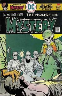Cover Thumbnail for House of Mystery (DC, 1951 series) #237
