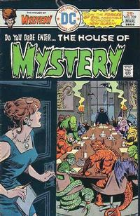 Cover Thumbnail for House of Mystery (DC, 1951 series) #239