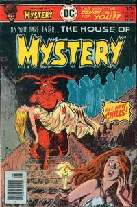 Cover Thumbnail for House of Mystery (DC, 1951 series) #244