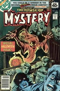 Cover for House of Mystery (DC, 1951 series) #264