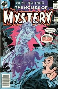 Cover Thumbnail for House of Mystery (DC, 1951 series) #271