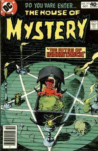 Cover Thumbnail for House of Mystery (DC, 1951 series) #273