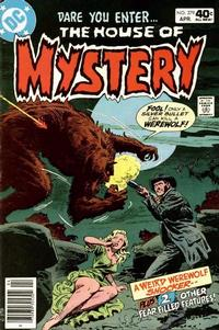Cover for House of Mystery (DC, 1951 series) #279