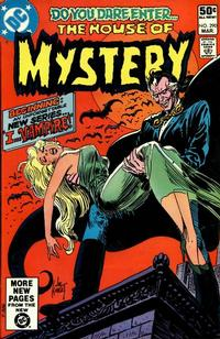 Cover Thumbnail for House of Mystery (DC, 1951 series) #290