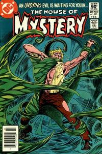 Cover Thumbnail for House of Mystery (DC, 1951 series) #301 [Newsstand]