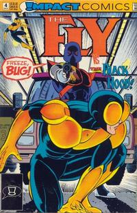 Cover Thumbnail for The Fly (DC, 1991 series) #4 [Direct]