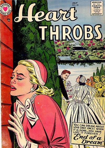 Cover for Heart Throbs (DC, 1957 series) #48