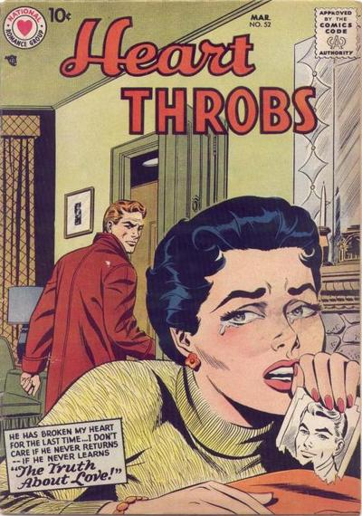 Cover for Heart Throbs (DC, 1957 series) #52