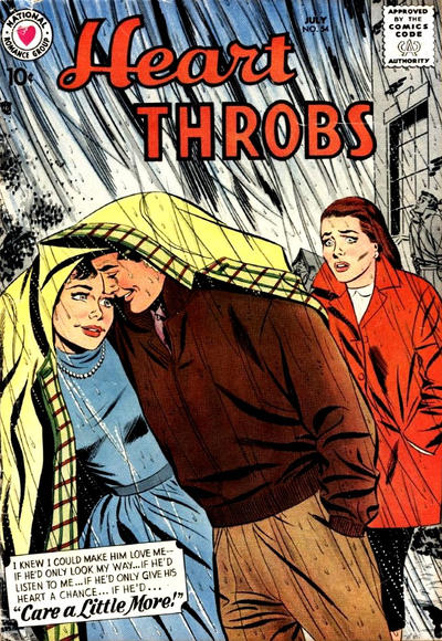 Cover for Heart Throbs (DC, 1957 series) #54