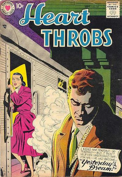 Cover for Heart Throbs (DC, 1957 series) #55
