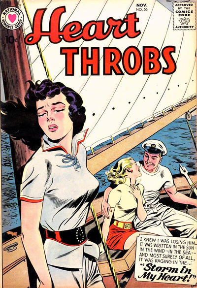 Cover for Heart Throbs (DC, 1957 series) #56