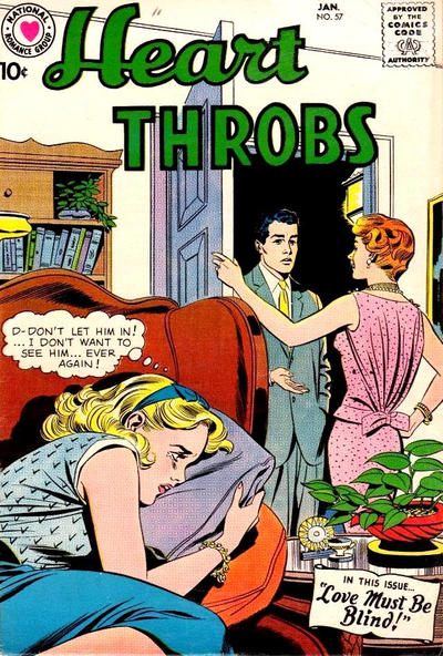 Cover for Heart Throbs (DC, 1957 series) #57