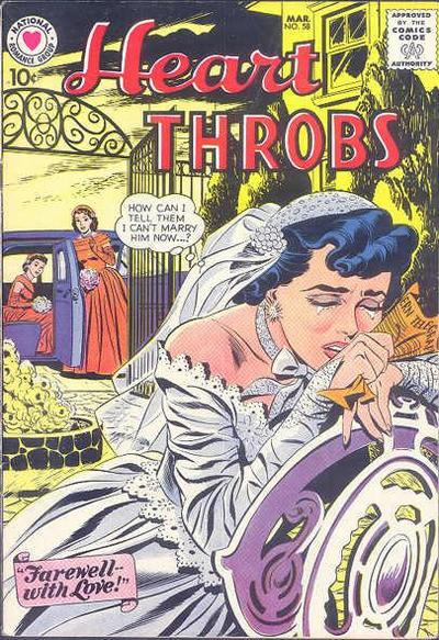 Cover for Heart Throbs (DC, 1957 series) #58