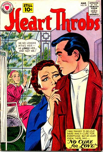 Cover for Heart Throbs (DC, 1957 series) #70
