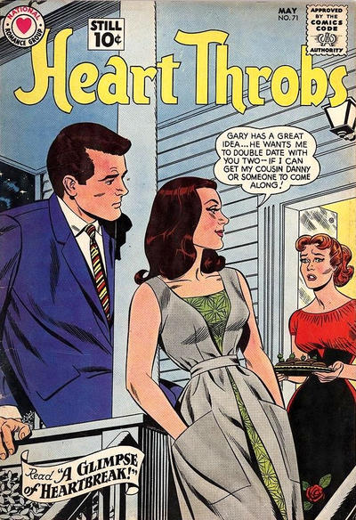 Cover for Heart Throbs (DC, 1957 series) #71