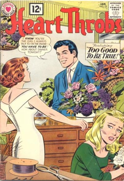 Cover for Heart Throbs (DC, 1957 series) #75