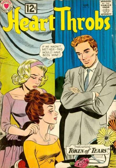 Cover for Heart Throbs (DC, 1957 series) #76