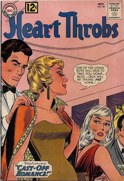 Cover for Heart Throbs (DC, 1957 series) #80
