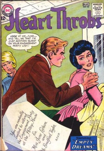 Cover for Heart Throbs (DC, 1957 series) #82