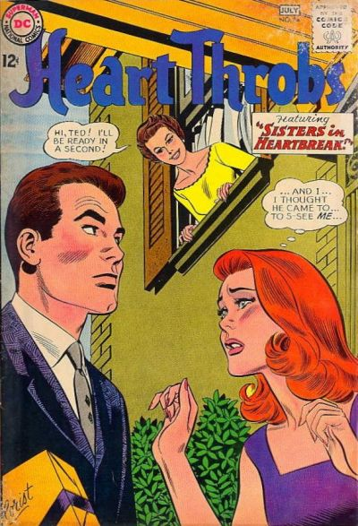 Cover for Heart Throbs (DC, 1957 series) #84