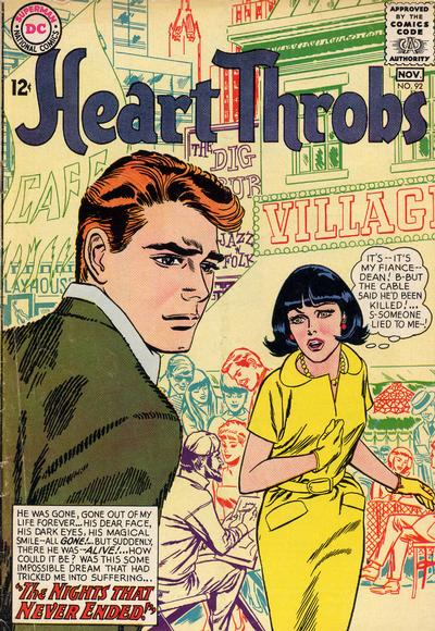 Cover for Heart Throbs (DC, 1957 series) #92