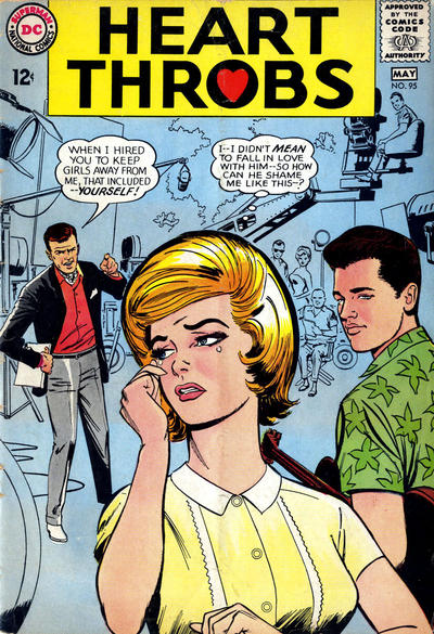 Cover for Heart Throbs (DC, 1957 series) #95