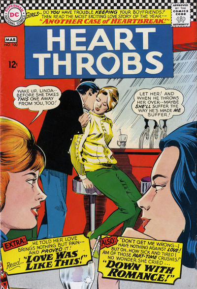 Cover for Heart Throbs (DC, 1957 series) #100