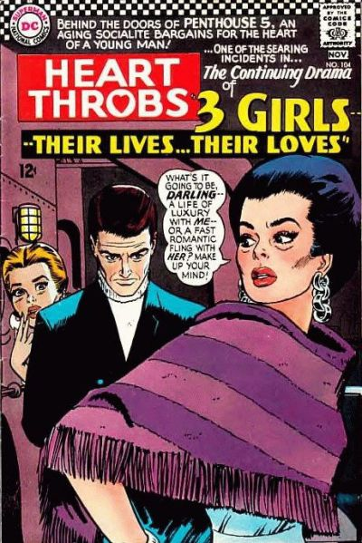 Cover for Heart Throbs (DC, 1957 series) #104