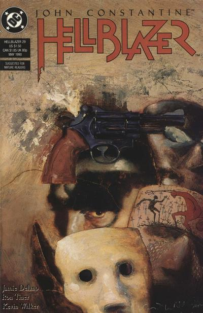 Cover for Hellblazer (DC, 1988 series) #29