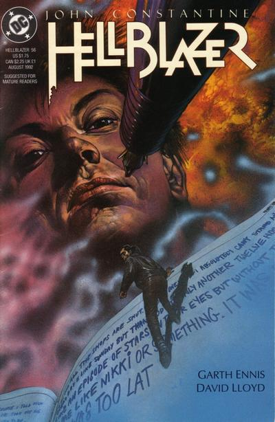 Cover for Hellblazer (DC, 1988 series) #56