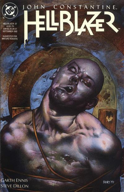 Cover for Hellblazer (DC, 1988 series) #57