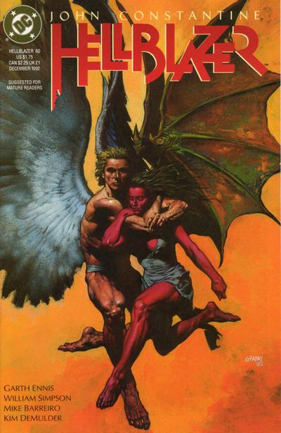 Cover for Hellblazer (DC, 1988 series) #60