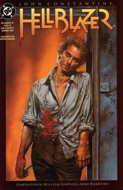 Cover for Hellblazer (DC, 1988 series) #61