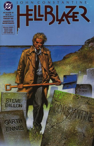 Cover for Hellblazer (DC, 1988 series) #62