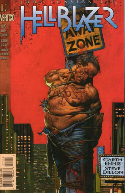 Cover for Hellblazer (DC, 1988 series) #73