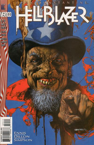 Cover for Hellblazer (DC, 1988 series) #75