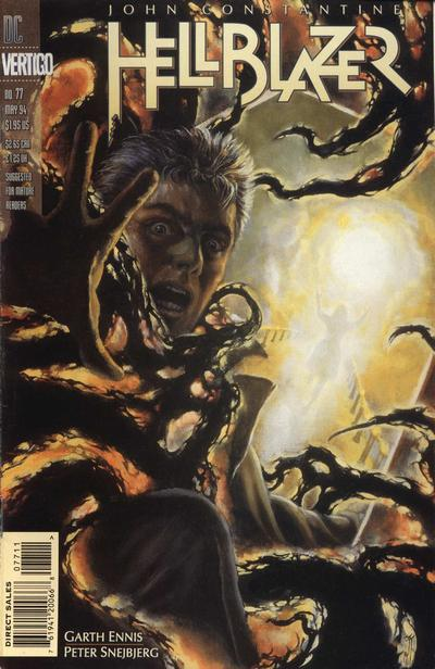 Cover for Hellblazer (DC, 1988 series) #77