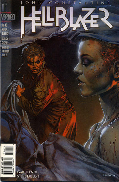 Cover for Hellblazer (DC, 1988 series) #80