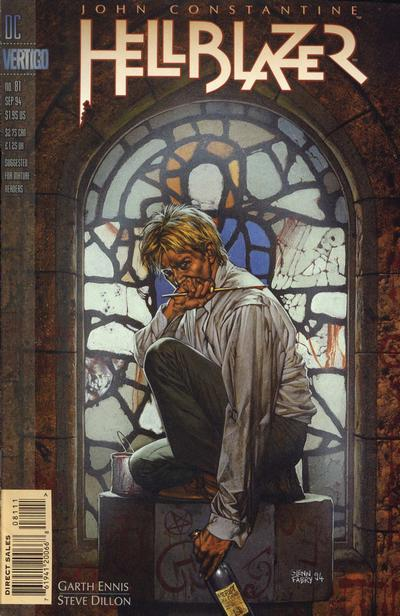 Cover for Hellblazer (DC, 1988 series) #81