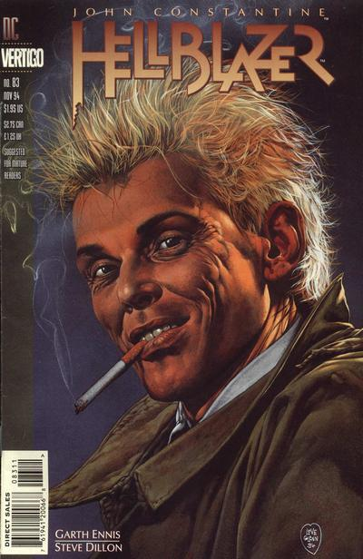 Cover for Hellblazer (DC, 1988 series) #83