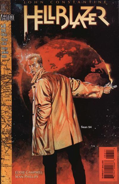 Cover for Hellblazer (DC, 1988 series) #86
