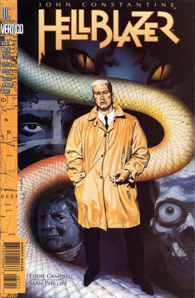 Cover for Hellblazer (DC, 1988 series) #87