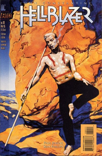 Cover for Hellblazer (DC, 1988 series) #89