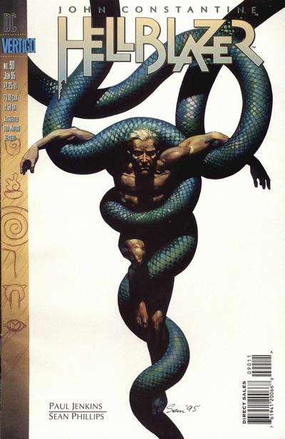 Cover for Hellblazer (DC, 1988 series) #90